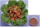 和風ドレッシングの豆サラダ