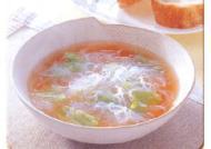 レタス春雨スープ