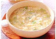 パンたまごスープ