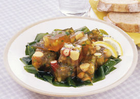 豆の寒天サラダ