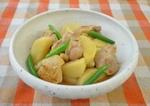 長いもと鶏肉の煮物