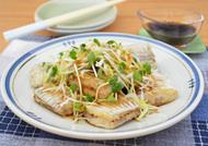 太刀魚の唐揚げの酢しょうゆ仕立て