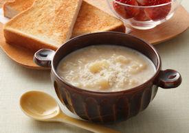 新じゃがのみそスープ