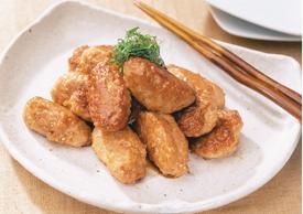 鶏つくねのてり焼き
