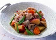 秋野菜の五目煮