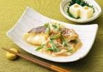 白身魚の野菜あんかけ