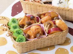 鶏肉のマーマレード煮
