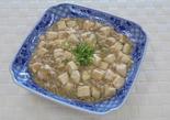 辛くないマーボー豆腐風