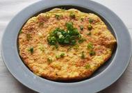 卵と長芋のふんわり焼き