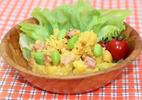 枝豆の肉みそポテトサラダ